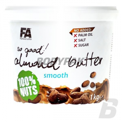 FA So Good! Almond Butter Smooth 100% [Migdał] - 1kg