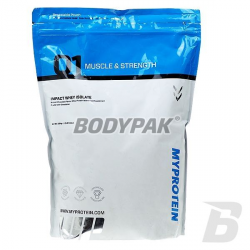 MyProtein Impact Whey Isolate - 2,5kg