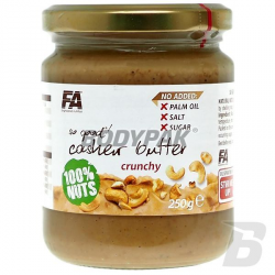 FA So Good! Cashew Butter Crunchy [Nerkowiec] 100% - 250g