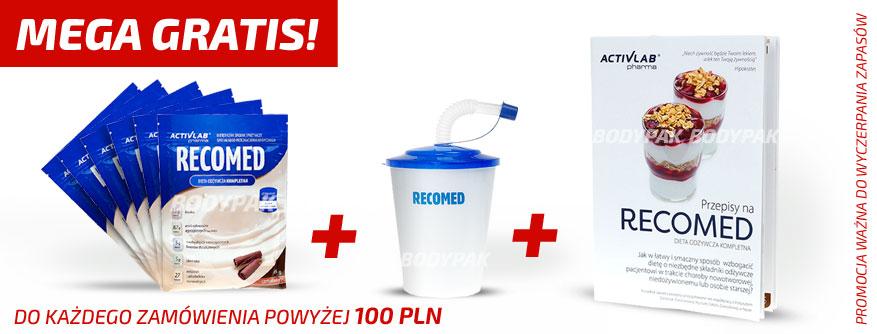 Do każdego zamówienia powyżej 100 PLN zestaw RECOMED GRATIS!