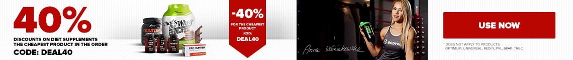 40% off the cheapest